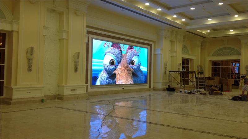 成都室内P5全彩LED显示屏