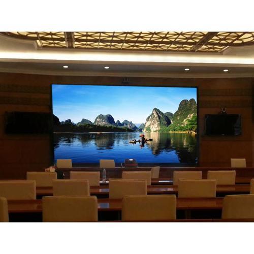 高清小间距LED显示屏在会议室中的优势